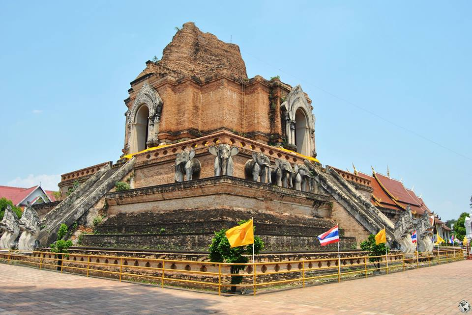 Templo Wat Chedi Luang, Chiang Mai