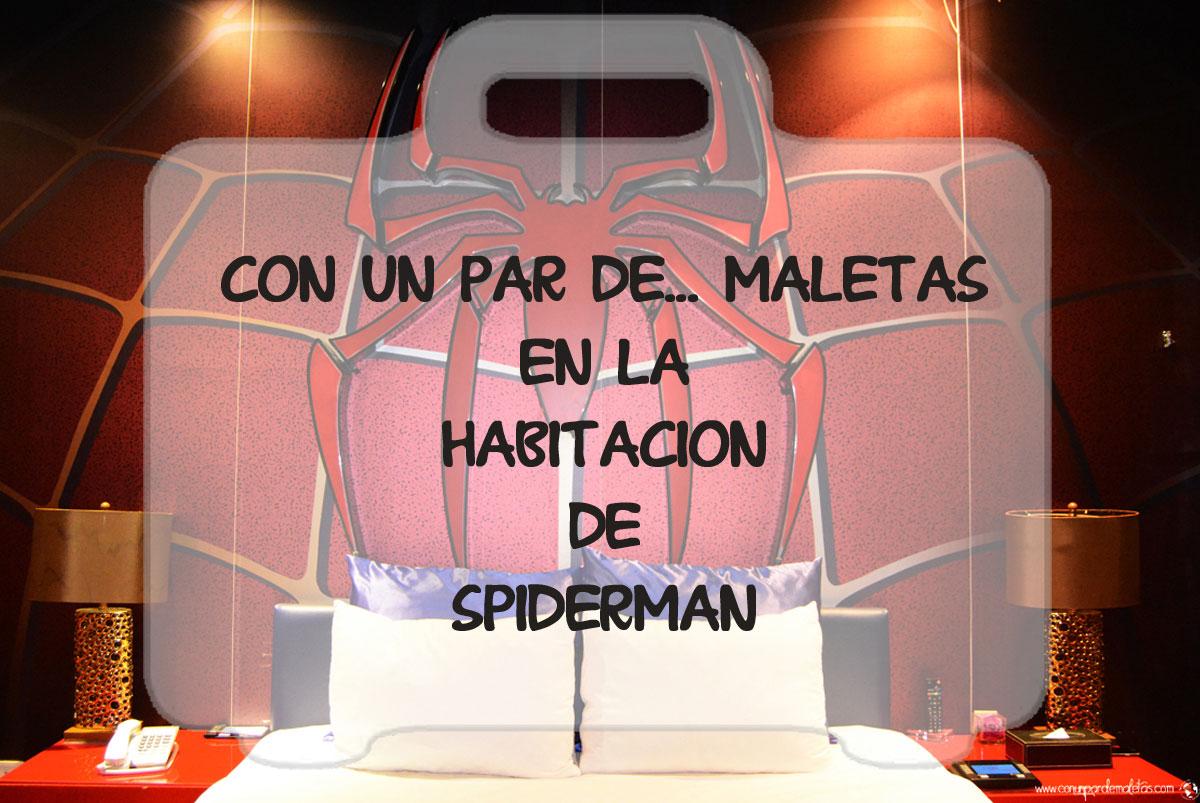 Habitación de Spiderman