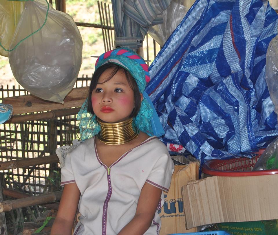 Mujeres Jirafa, Tailandia