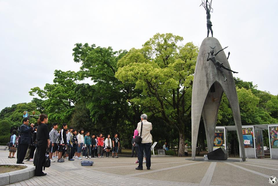 Monumento a Sadako Sasaki, Hiroshima