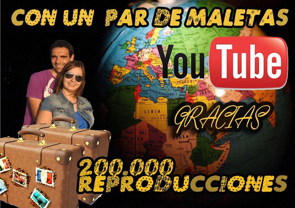 200.000 reproducciones en YouTube