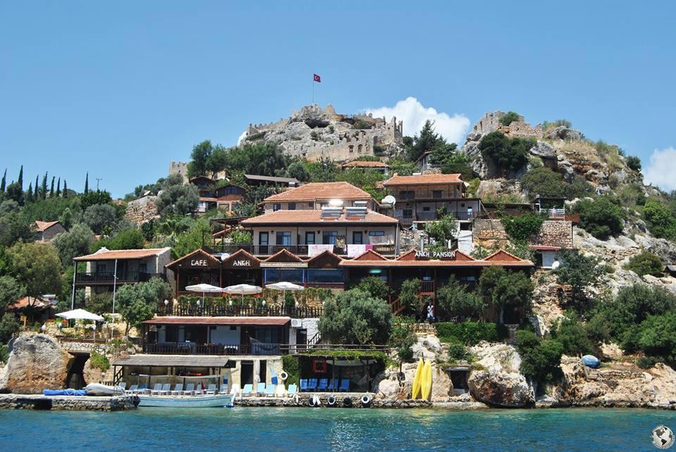 Castillo de Kalekoy, Turquía