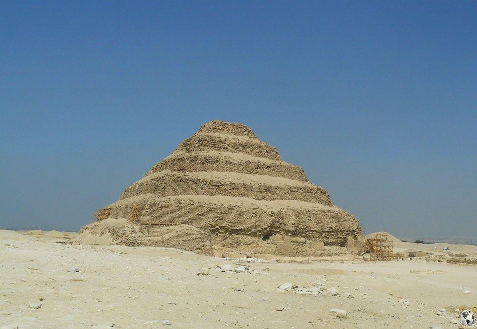 Pirámide escalonada de Zoser, Egipto