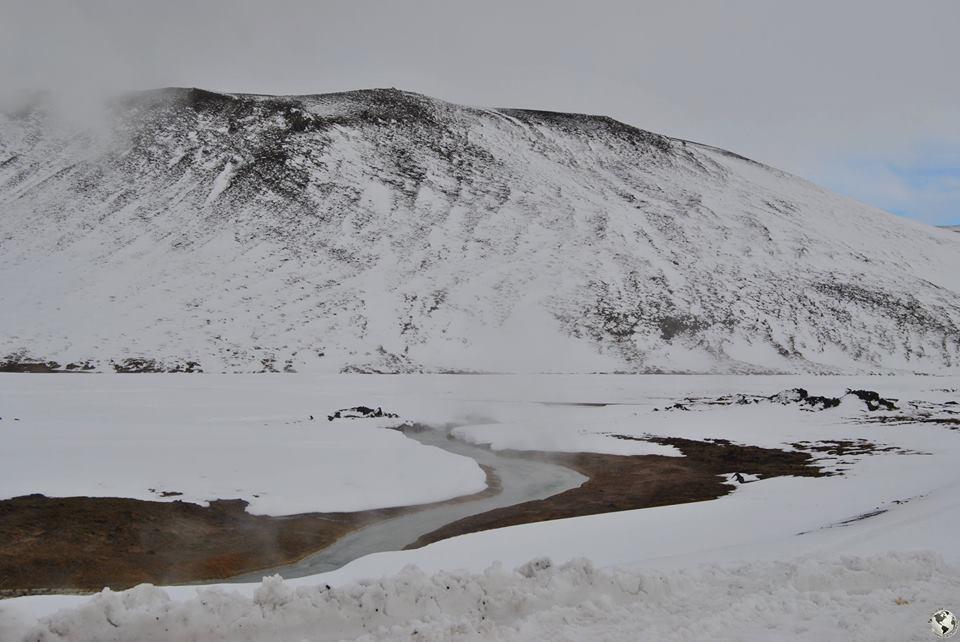 Rios calientes, Islandia