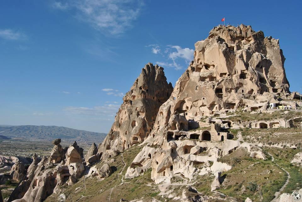 Castillo de Uchisar, Capadocia