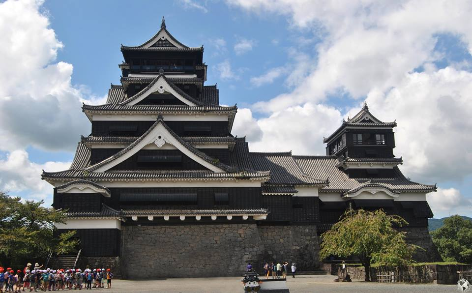 Castillo de Kumamoto, Japón