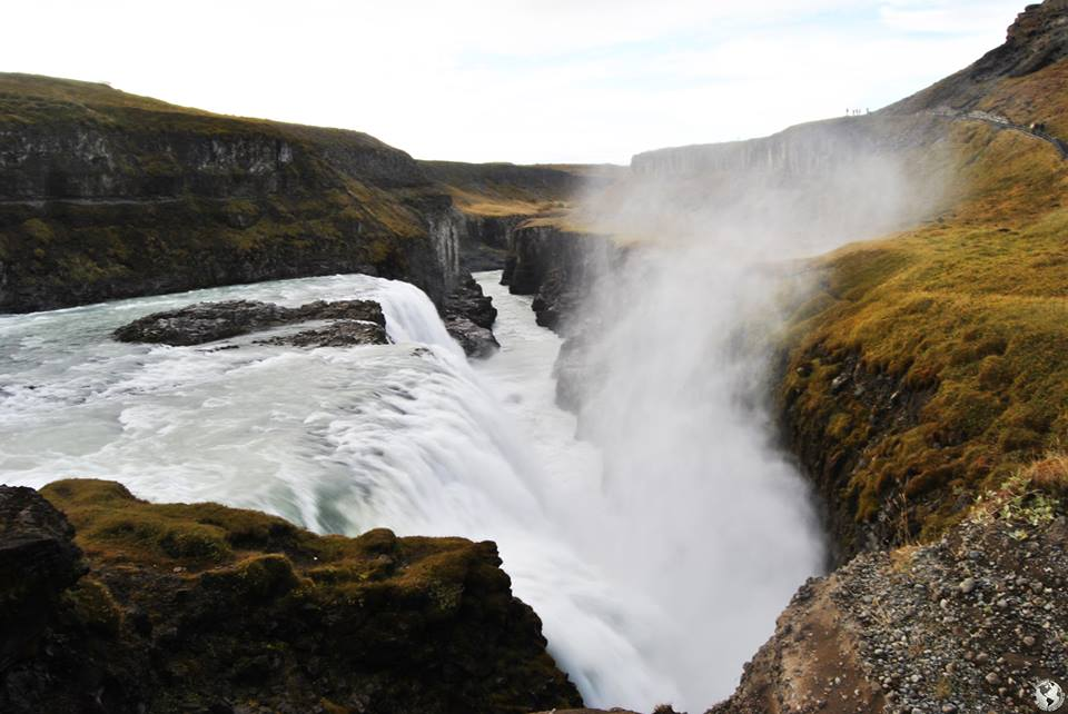 Cascada Gulfoss, Islandia