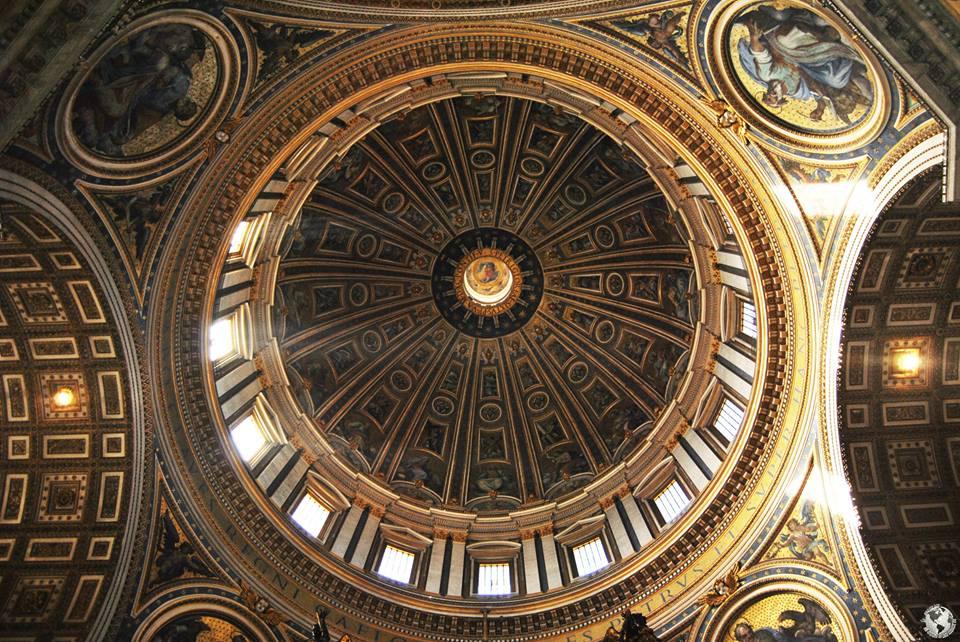 Cúpula de San Pedro, el Vaticano