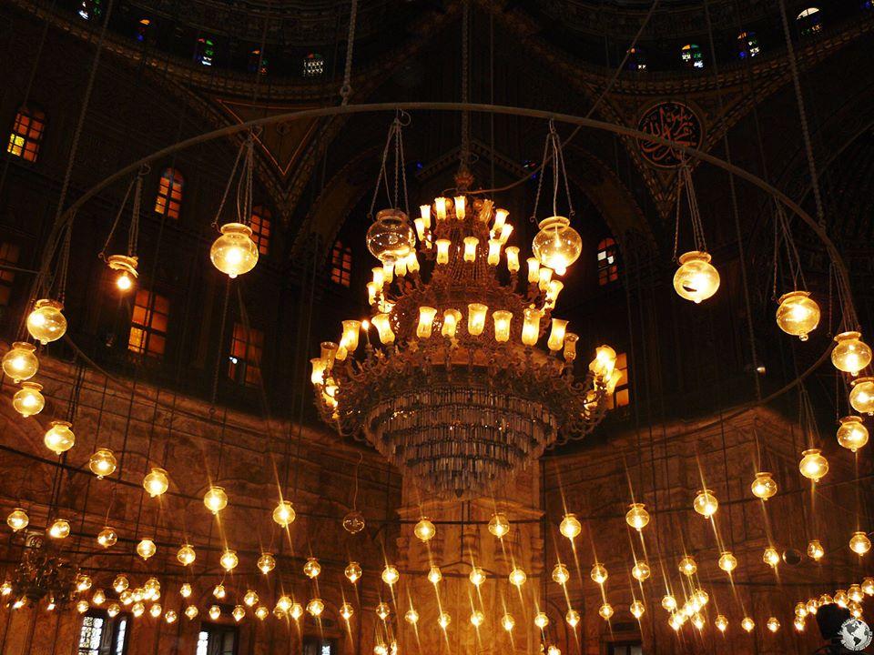 La Mezquita de Alabastro, el Cairo