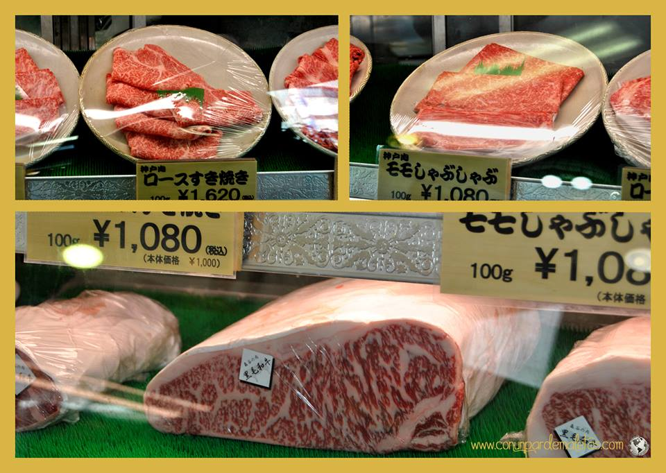 Carne de Kobe, Japón