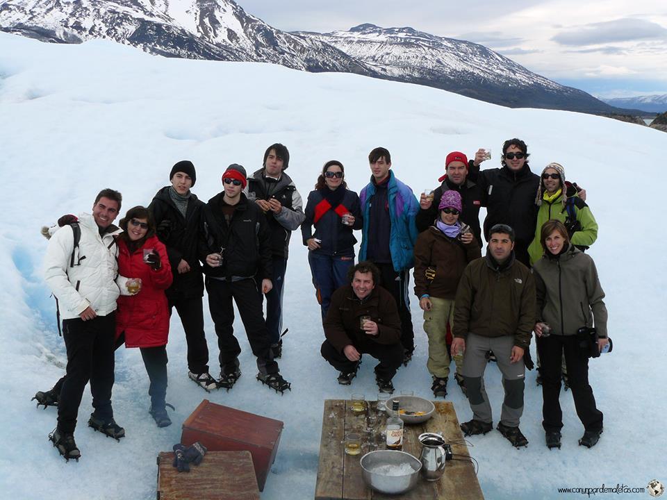 Trekking Perito Moreno, Argentina