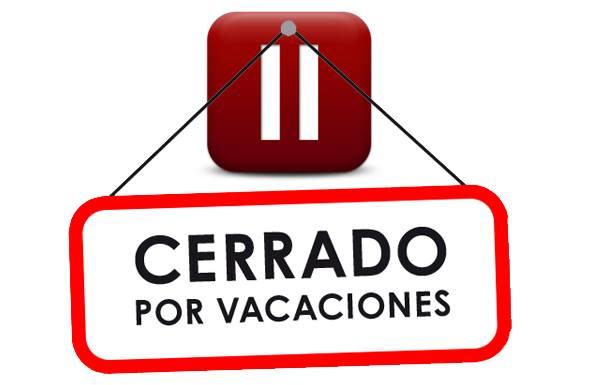 Cerrado por vacaciones conunpardemaletas cerrado por vacaciones thecheapjerseys Image collections