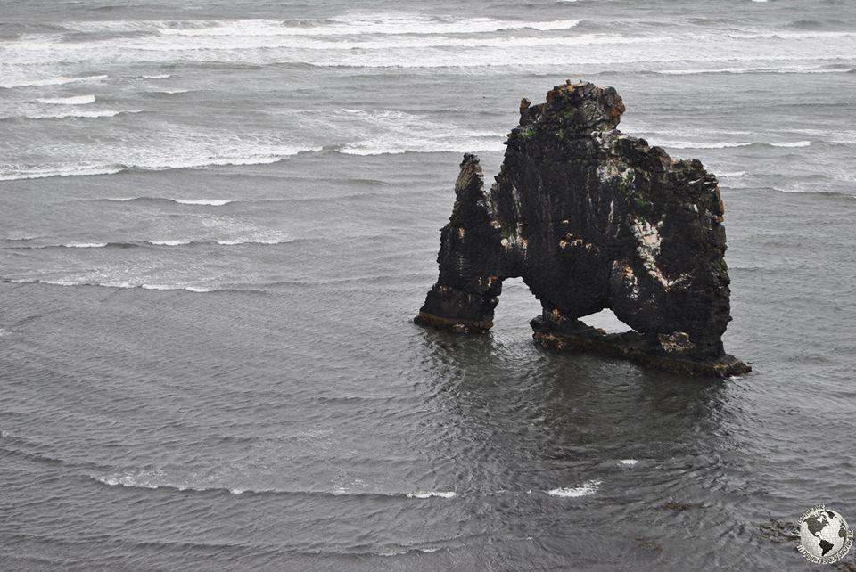Rinoceronte de Piedra, Islandia