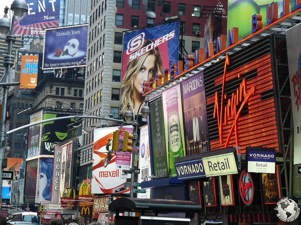 Publicidad Times Square, New York