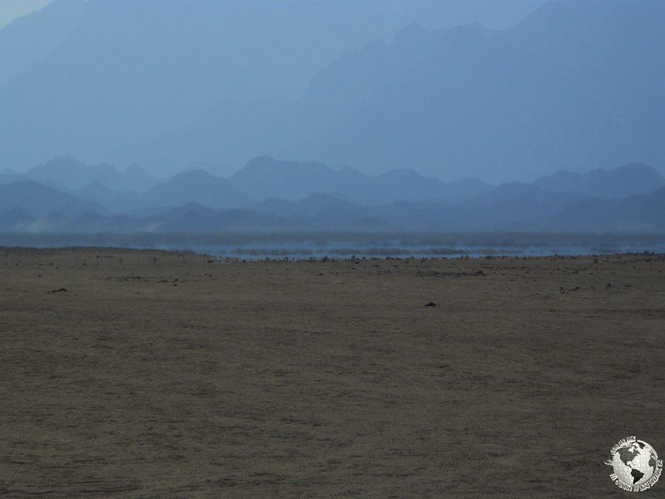 Espejismo Desierto Hurghada, Egipto