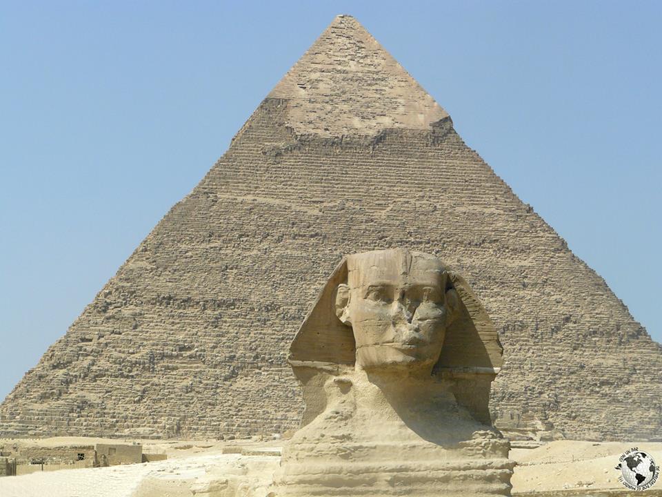 La gran Esfinge de Giza, El Cairo