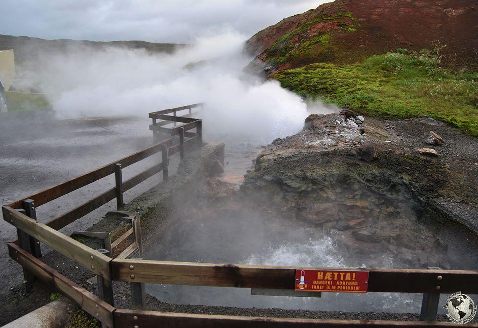 Fuente Termal Deildartunguhver, Islandia