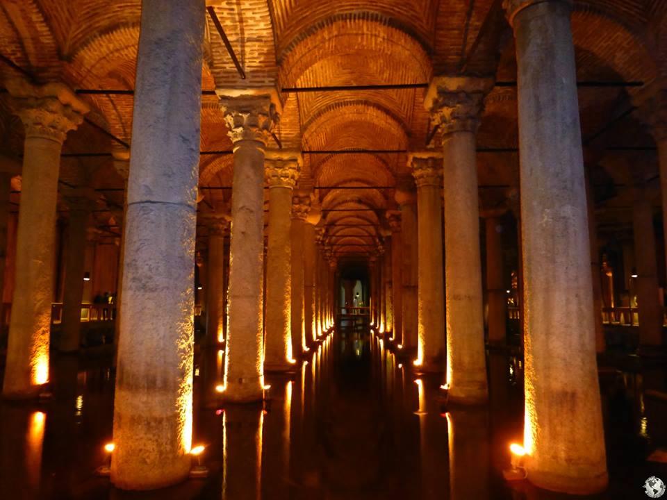 Cisterna Basílica, Turquía