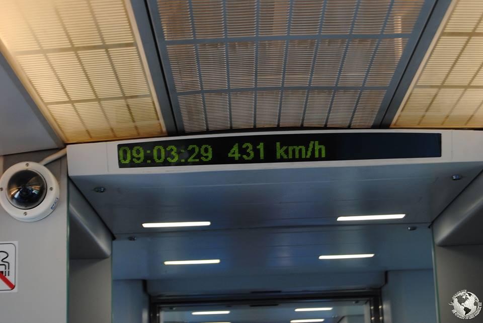 Tren levitación magnética Maglev, Shanghai