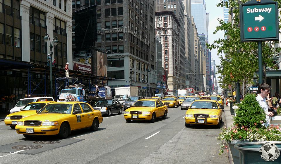 Taxis Amarillos, New York