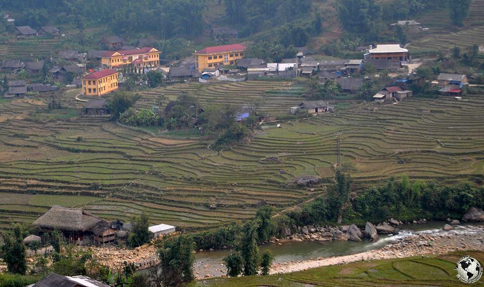 Arrozales de Sapa, Vietnam