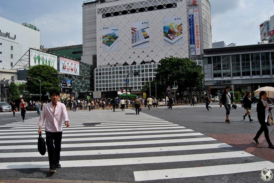 El cruce más transitado del mundo, Tokio