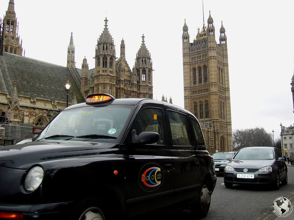 Taxis de Londres, Inglaterra