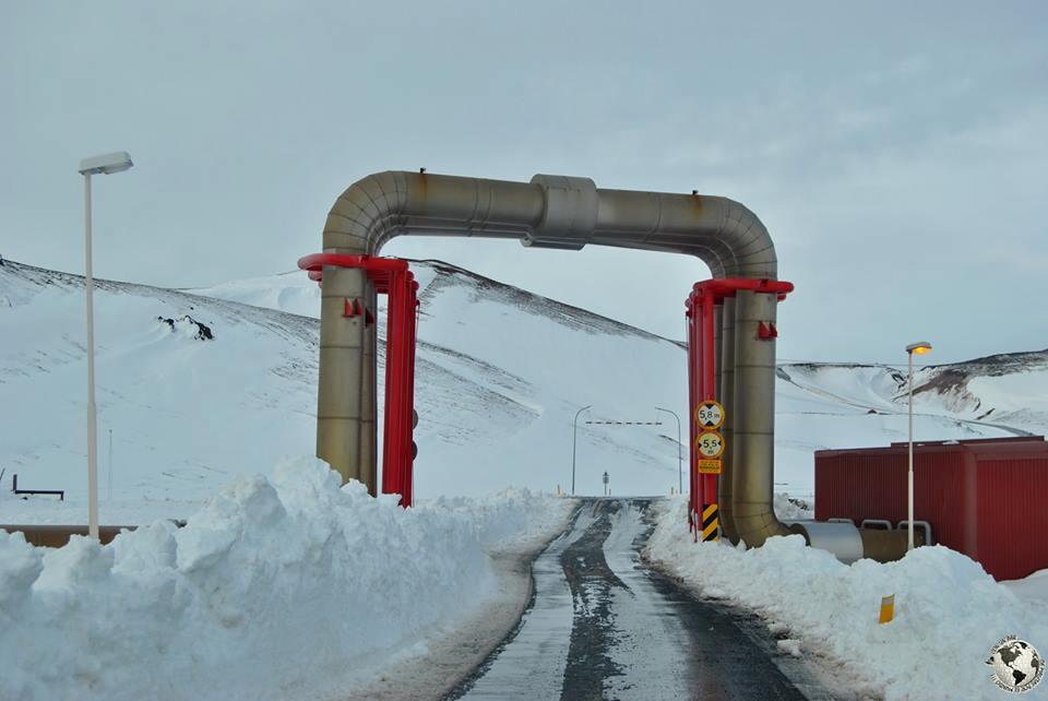 Central geotérmica de Krafla, Islandia