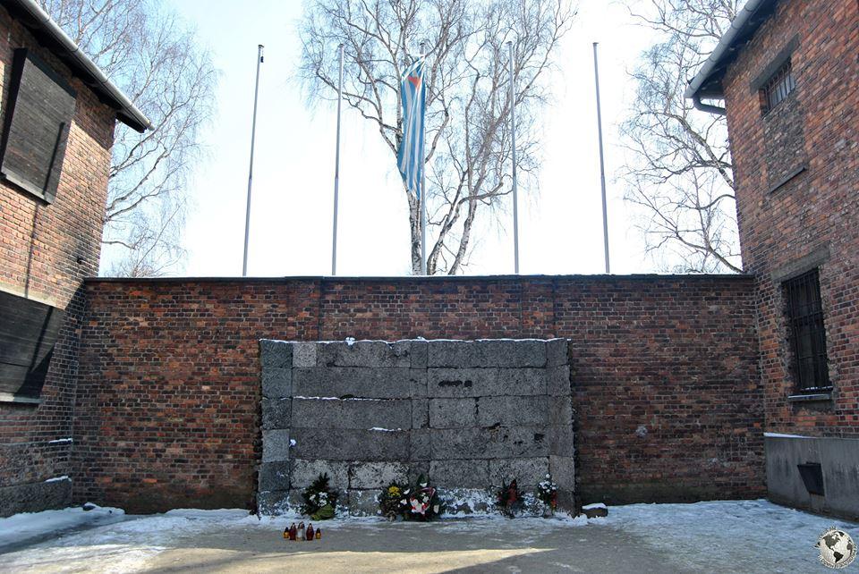 El patio de la muerte, Auschwitz