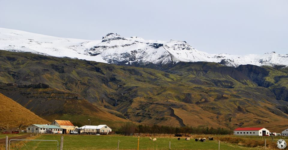 Volcán Eyjafjallajökull, Islandia