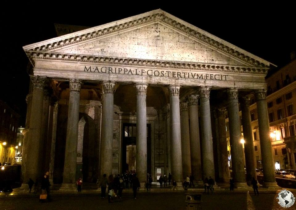El Panteón de Agripa, Roma