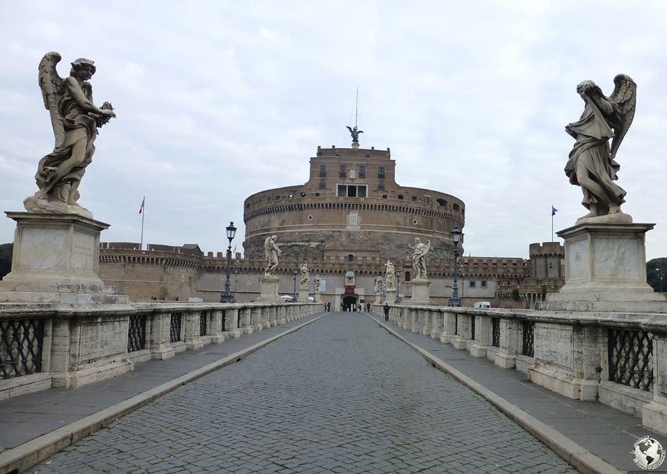 Castillo y puente de Sant Angelo, Roma