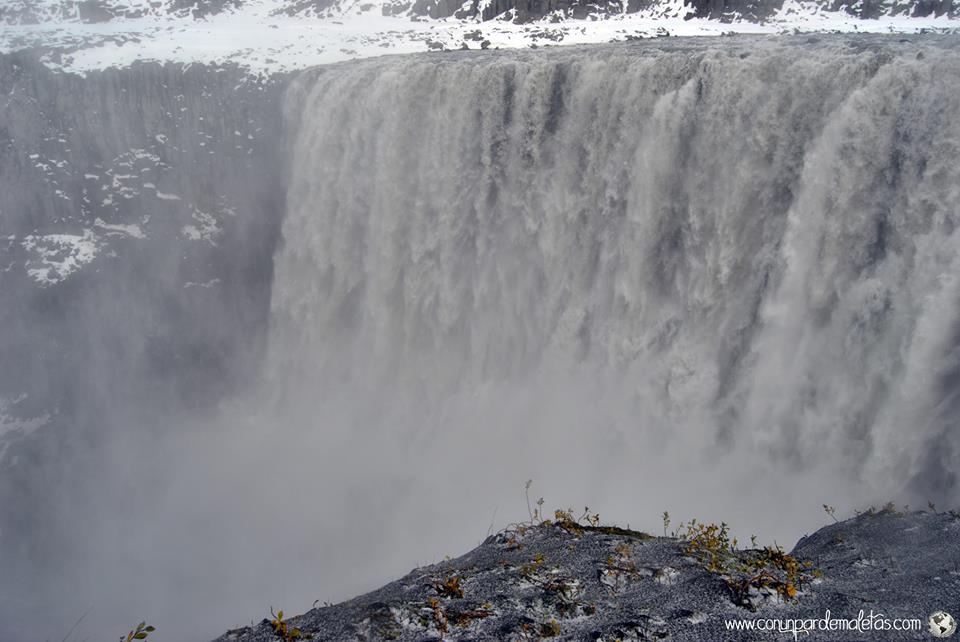 Dettifoss, la cascada más caudalosa de Europa. Islandia