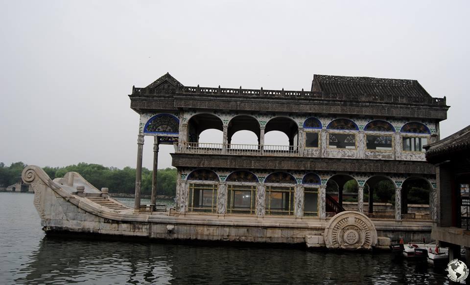 Barco de mármol, Beijing