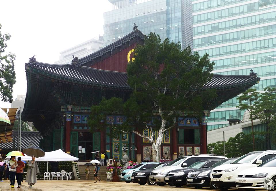 Templo budista Jogyesa, Seúl