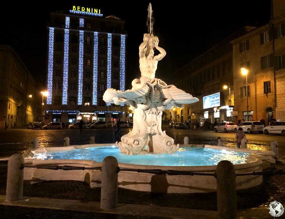 Fontana del Tritone, Roma