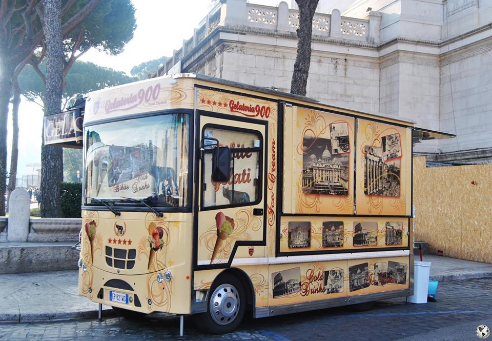 Gelato, Roma