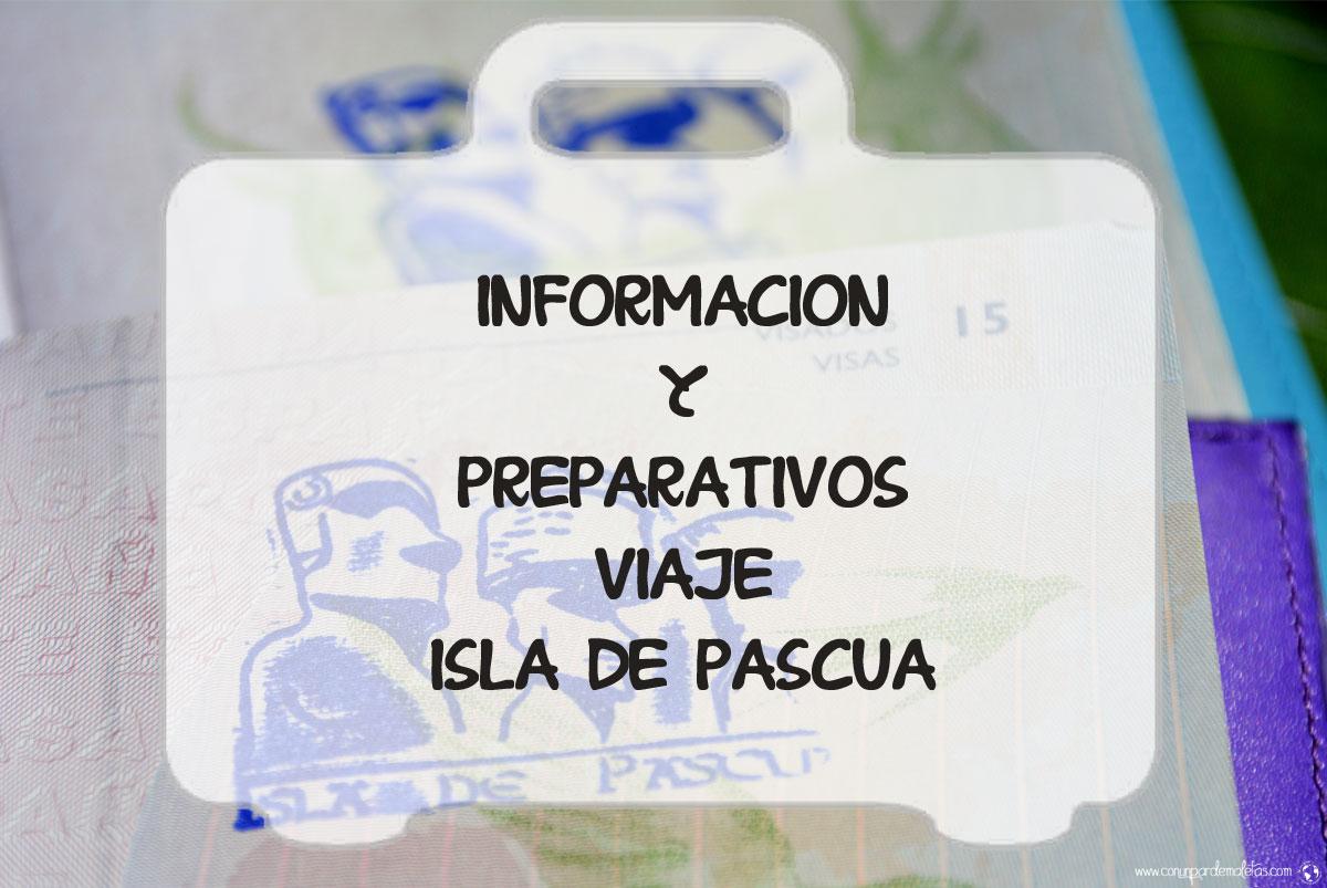 Información para organizar un viaje a Isla de Pascua