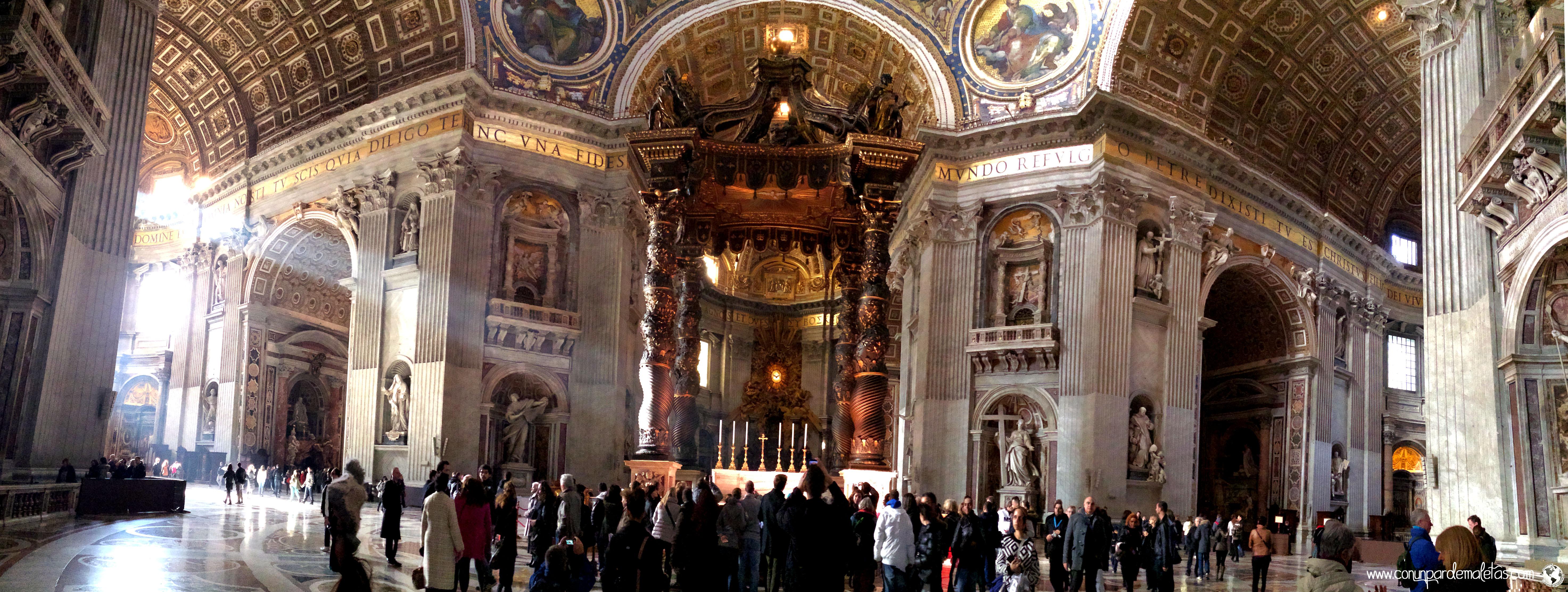 Basílica de San Pedro, El Vaticano