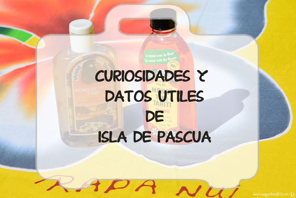 Curiosidades de Isla de Pascua