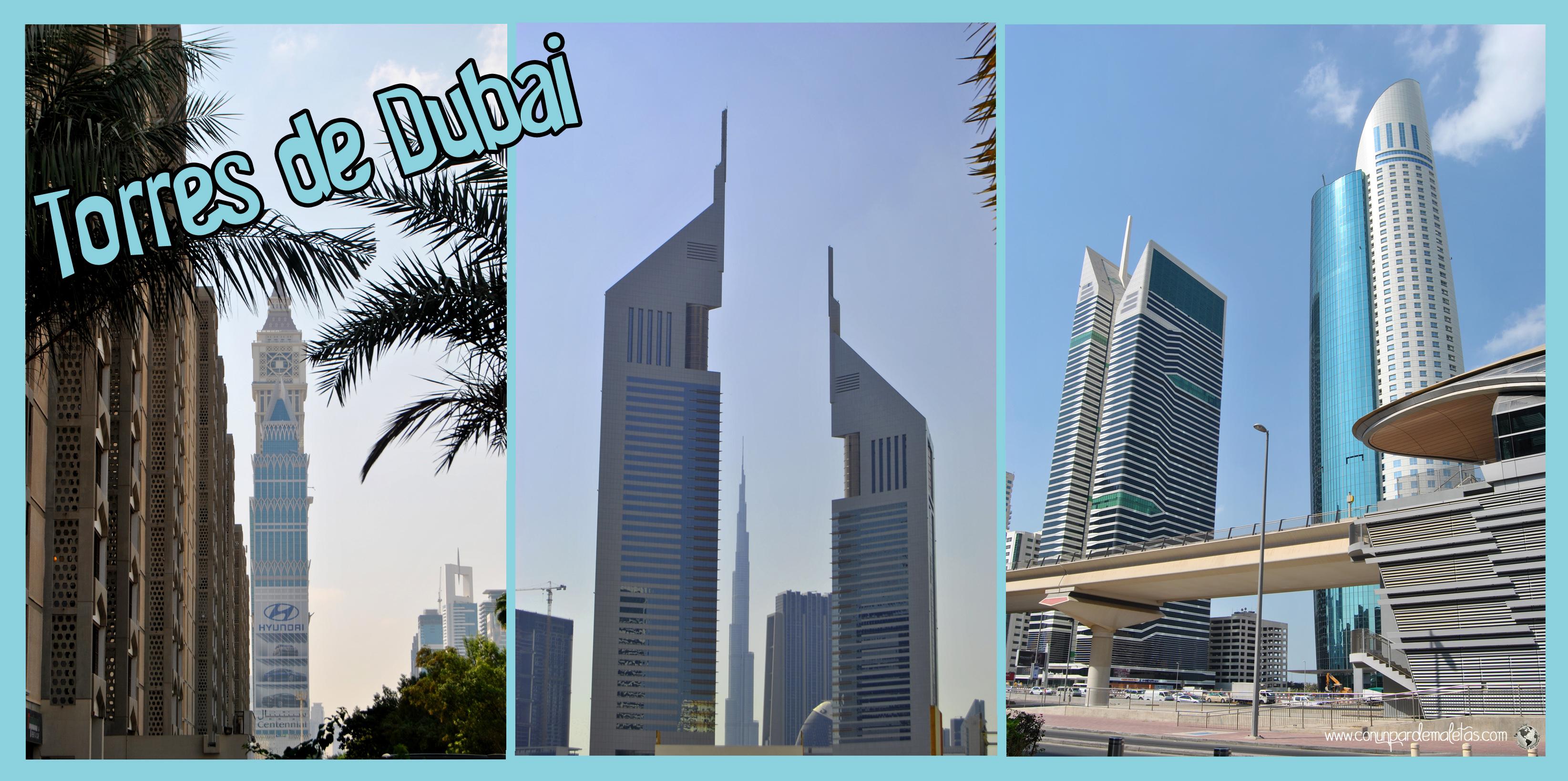 Rascacielos, Dubai