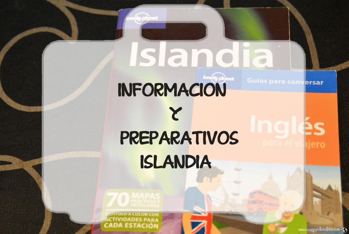 Preparativos viaje Islandia