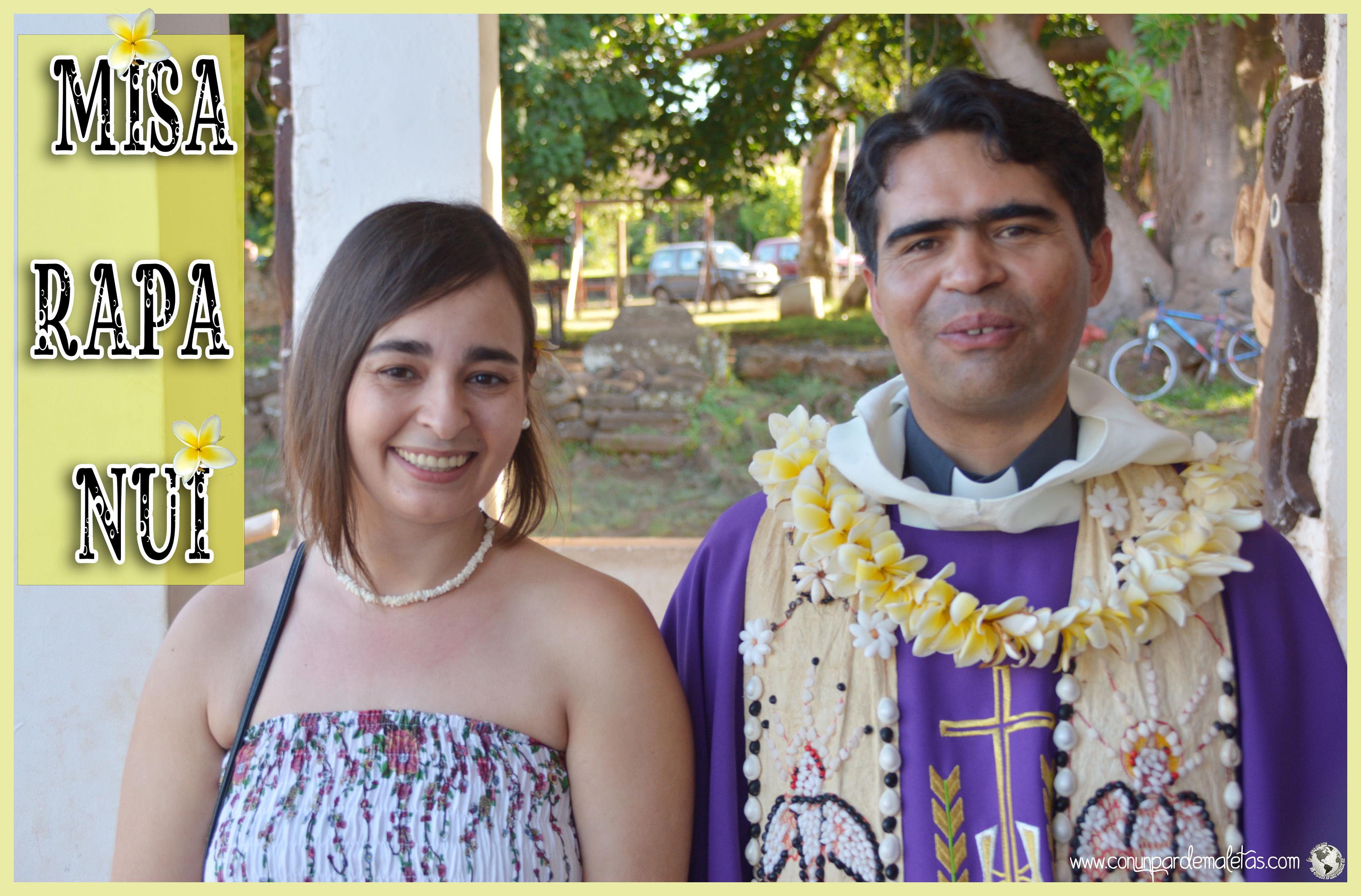 Misa Rapa Nui, Isla de Pascua