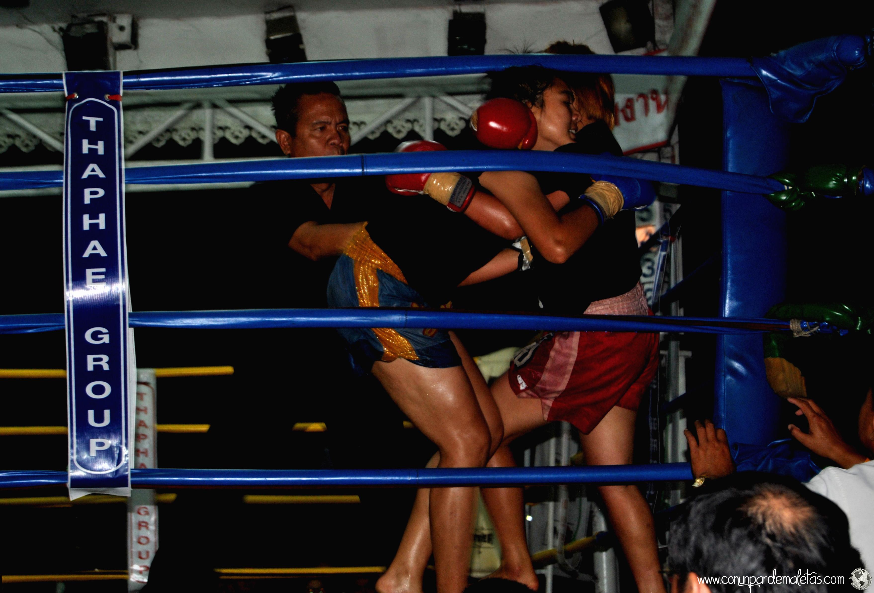 Muay Thai, deporte nacional de Tailandia. Chiang Mai