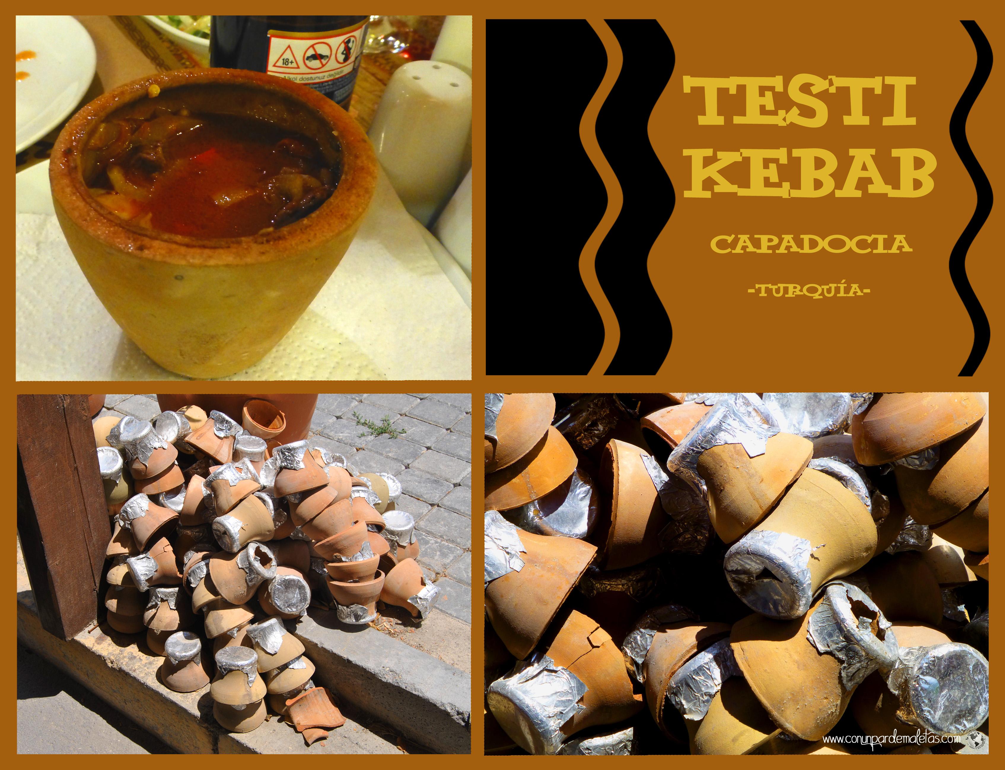 Testi Kebab, Capadocia