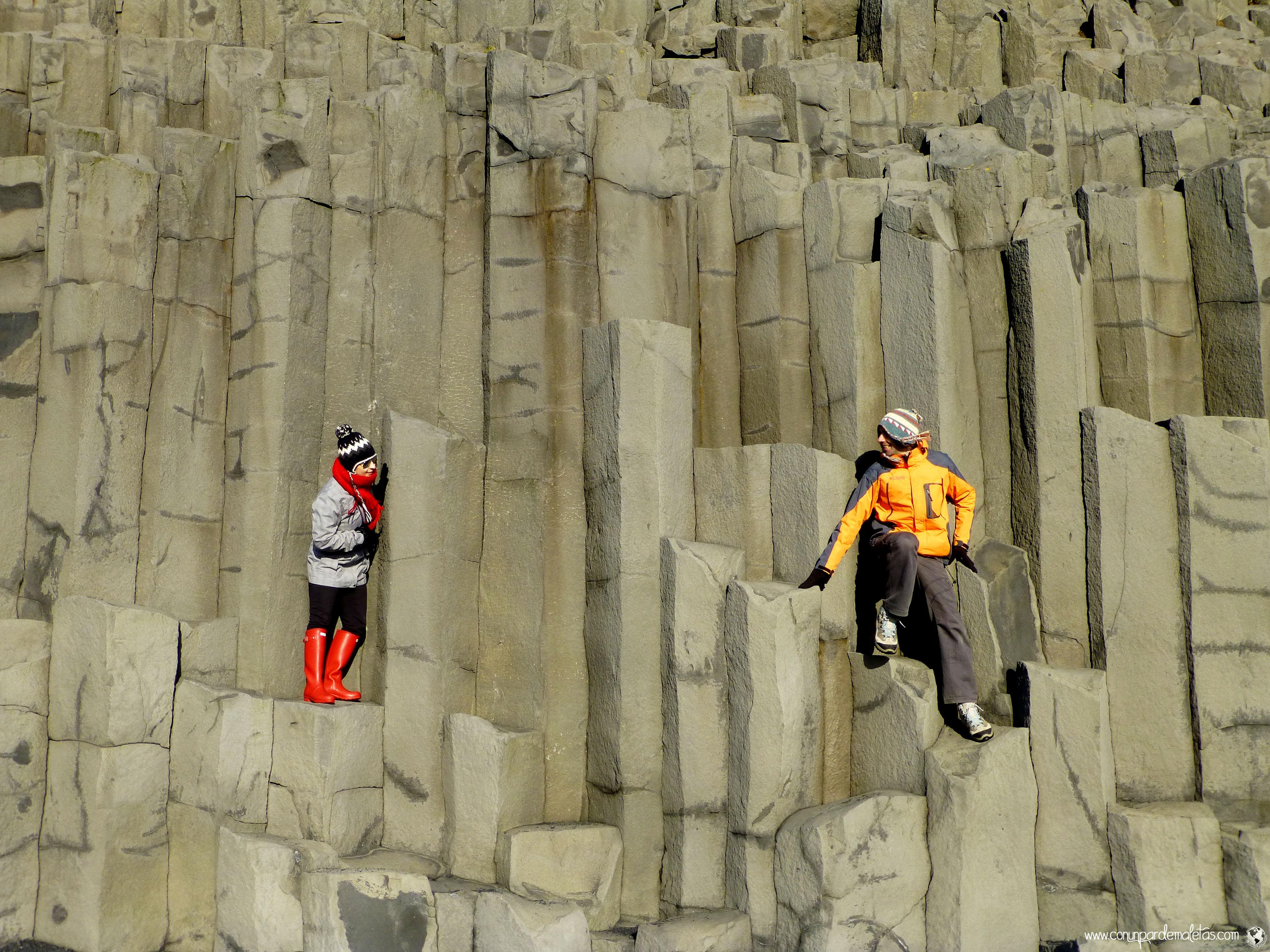 Columnas de basalto, Islandia
