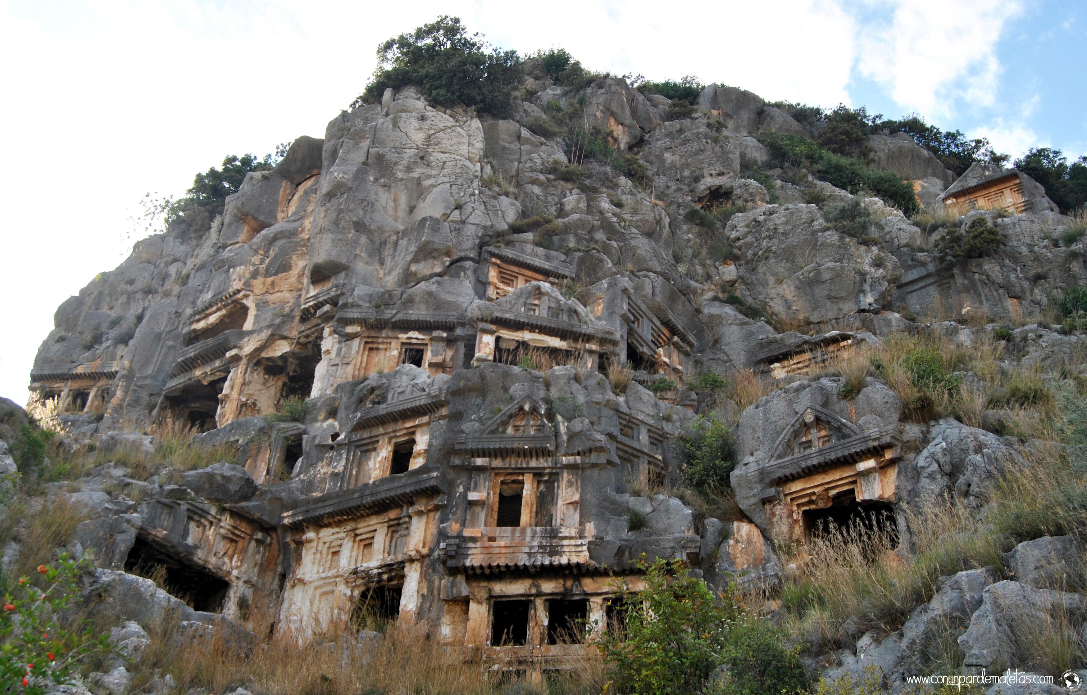 Tumbas Licias de Myra, Turquía