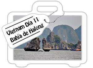 Vietnam día 11: Bahía de Halong