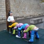 escultura seúl