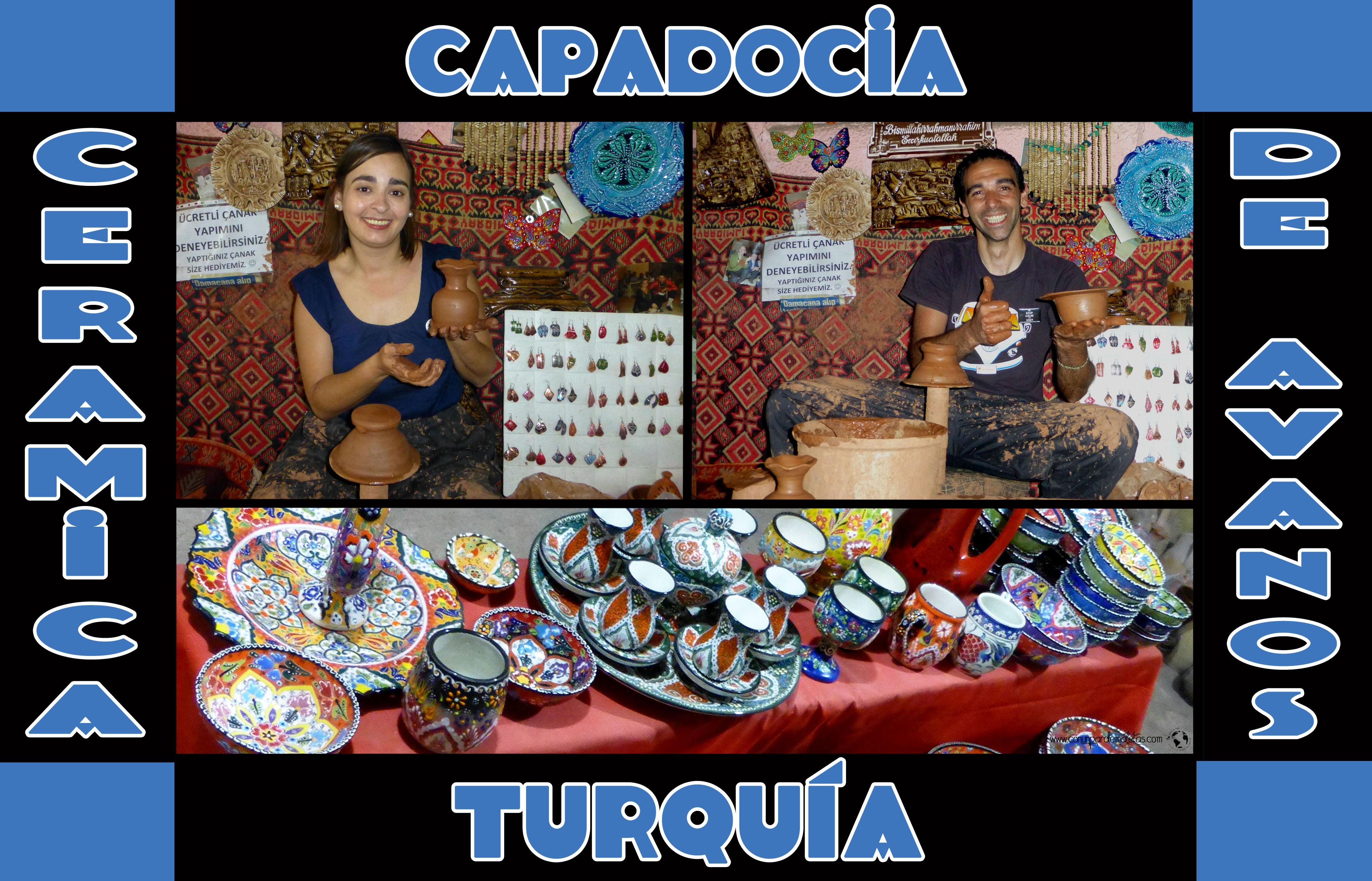 La cerámica de Avanos, Turquia